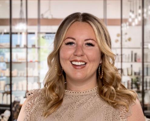 Carys West kelowna hair stylist